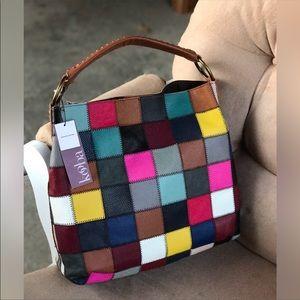 Kooba Bags - Price⬇️! Kooba Genuine Leather Patchwork Bag